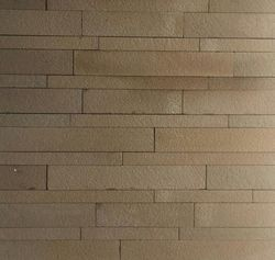 Yellow sandstone cladding tiles for wall