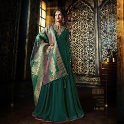 Pure Banarsi Silk Suit