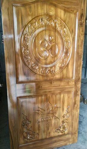 Carving Doors Designer Teak Wood Door Manufacturer From