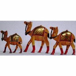 Handicraft Wooden Camel