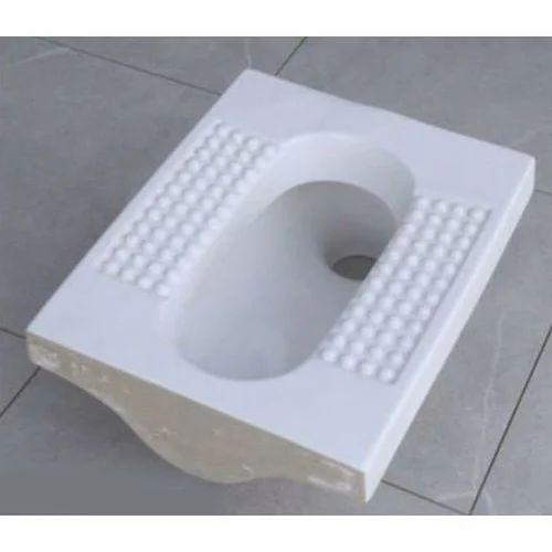 pan toilet elevation