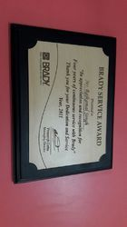 wooden sertificate