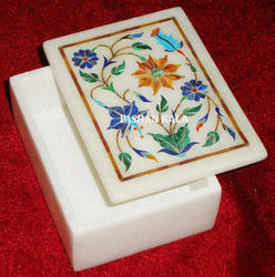 Inlaid Marble Decorative Box