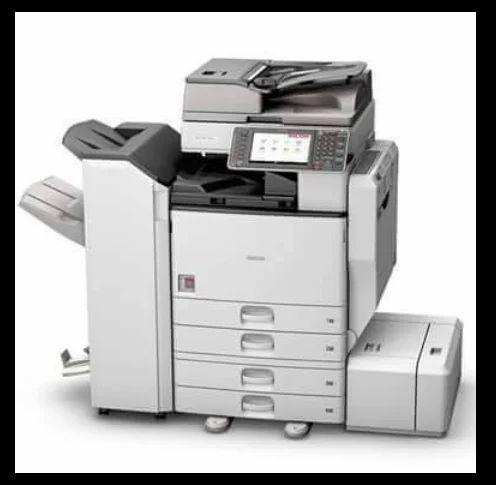 Black ink of photocopier machine