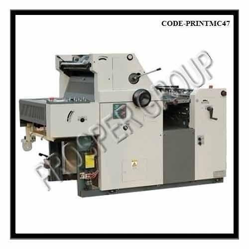 Non Woven Satellite Double Color Offset Printing Machine