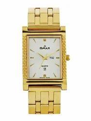 Mens Golden Watch