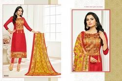 3/4 Sleeve Sararara Salwar Suit Fabric