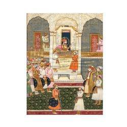 Mughal Court Scene Paintings