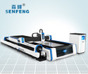 Metal Plates and Pipes Exchange Table Laser Cutting Machine