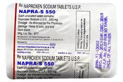 NAPRA S 550 MG TABLET