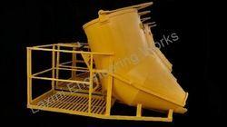 Concrete Bucket (Screw Jack Mechanism)