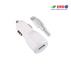 CC 50 iPh 5 White Car Charger