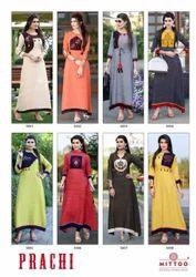 d3ddbe777e Ladies Kurti - Georgette kurti Wholesale Trader from Surat