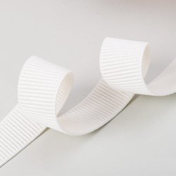 White Stretchable  Woven Elastic Tapes