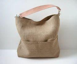 Sling Handle Jute Beach Bags