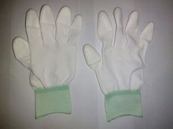 PU Coated Tip Coated Gloves