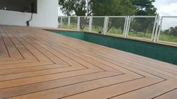 Deck Flooring with Color Grain Technology