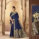 Pure Soft Silk Saree With Work