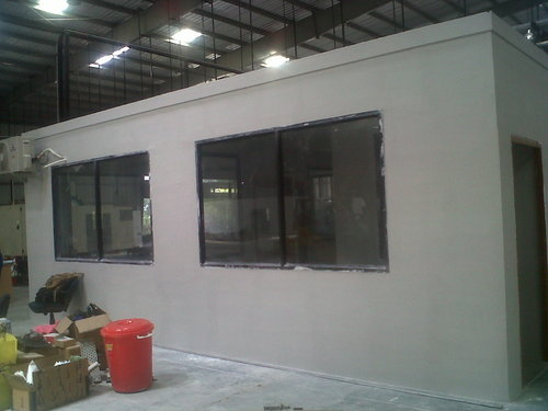Aerocon Panel Walls Site Office