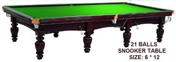 Snooker Table In Imported Slate