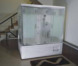 Rectangular Steam Tub Shower Cabin