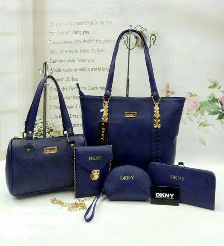 Combo Bags - Dkny 5 Piece Combo Bags Manufacturer from Mumbai 8e2136675b0f9