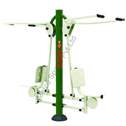 Metco Seated Pull Down Double, Outdoor Gym Equipment