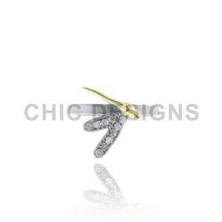 925 Silver Designer Mid Ring