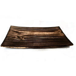Rectangular Pine Wood Food Platter