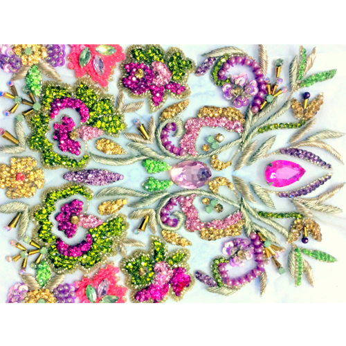 Embroidery Works Embroidery Sequins Work Manufacturer From Ghaziabad