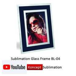 Sublimation Glass Frame BL 04