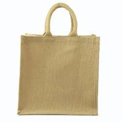 Jute Berry Natural Bag 12x12x5