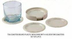 Coaster Round Plastic Moulding