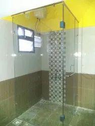 Glass Shower Enclosure l type