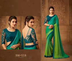 Wedding Wear Embroidered Saree