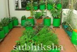 Terrace Garden with Subhiksha Grow Bags
