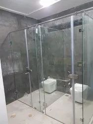 Steam Room Glass Partition