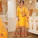 Party Wear Embroidery Work Salwar Suit