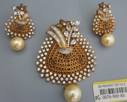 Antique Pendant Set
