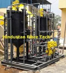 PP FPR Skid Mounted Chemical Dosing System