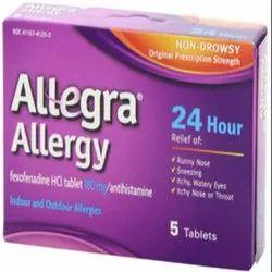 Medication for Allergy