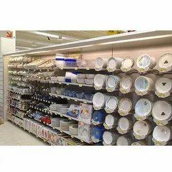 Crockery Display Rack