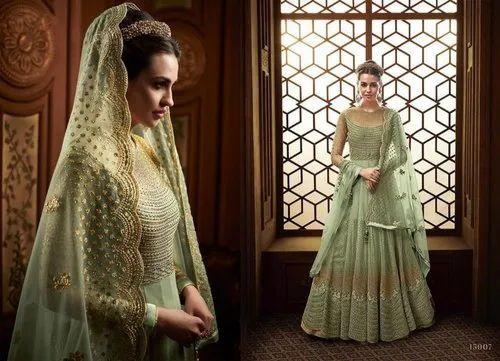 2997292593 Eid Offer Indian Summer Wear Heavy Embroidery Suit Semi Stitched Salwar  Kameez & Indian Pakistani Ethnic Salwar Kameez Designer Suit Bollywood Dress  EID ...