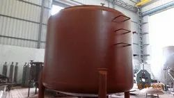 Rubber Lined Mixing Tank