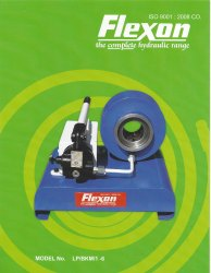 Flexon Make Hand-Operated Hose Crimping Machine: LP/BKM/1-6