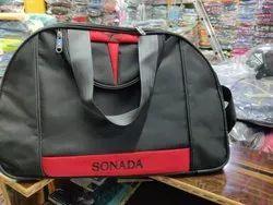 Black & Red Traveling Bag