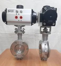 Offset Disc Pneumatic Butterfly Valve