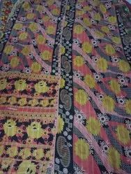 Indian Patchwork Vintage Kantha Quilt