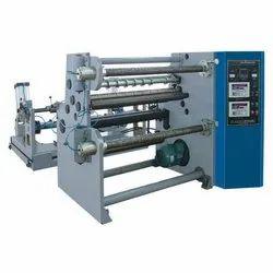 Shreeji Tech Engineering Polyester Film Slitting Rewinder Machine