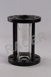 Flanged End MS Sight Glass